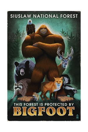 Siuslaw National Forest, Oregon - Bigfoot - Respect Our Wildlife