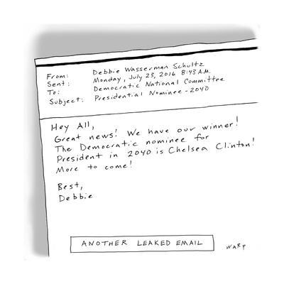 Another Leaked Email - Cartoon