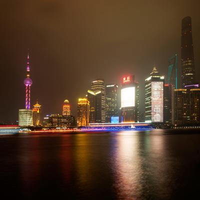 China 10MKm2 Collection - Shanghai Cityscape at night