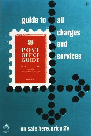 Post Office Guide, July 1957, Guide to All Charges and Services