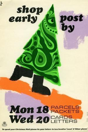 Shop Early Post by Mon 18th Parcels Packets, Wed 20th Cards Letters