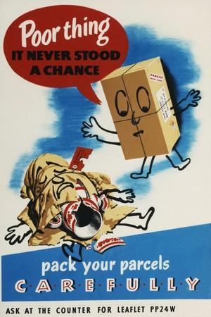 Pack Your Parcels Carefully