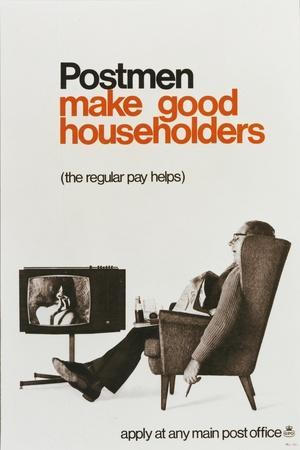 Postmen Make Good Householders - the Regular Pay Helps