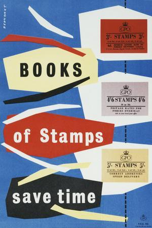 Books of Stamps Save Time