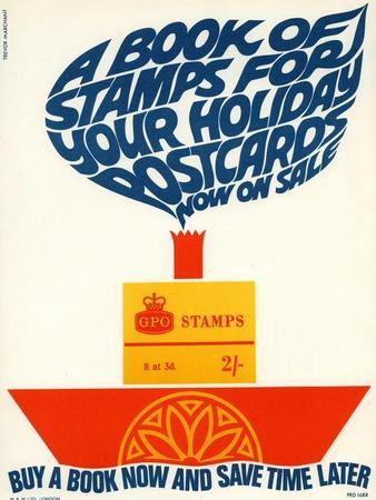 A Book of Stamps for Your Holiday - Postcards Now on Sale