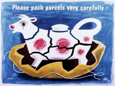 Please Pack Parcels Very Carefully