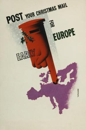 Post Your Christmas Mail for Europe Early