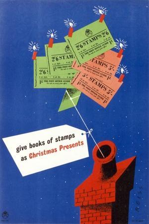 Give Books of Stamps as Christmas Presents