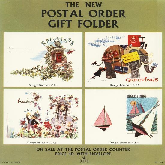 The New Postal Order Gift Folder