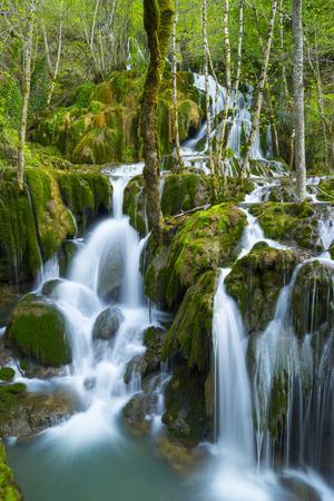 Water Cascading Down Toberia Falls