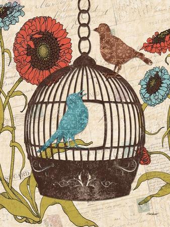 Birds and Blooms III
