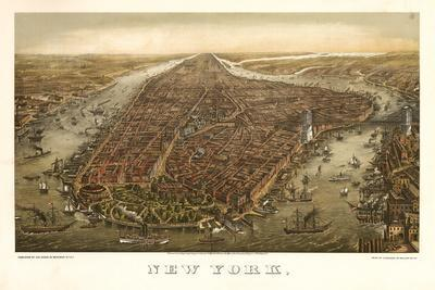 1874 NYC Map