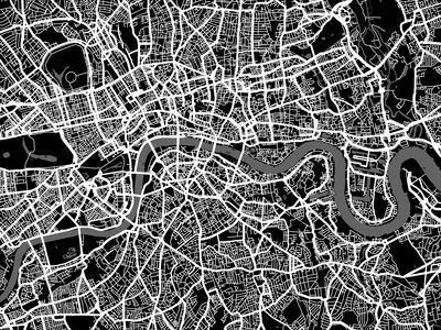London Map Art