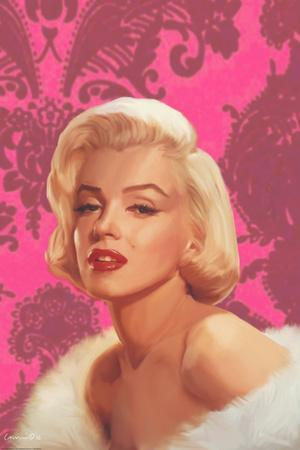True Blue Marilyn in Pink
