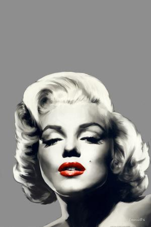 Red Lips Marilyn