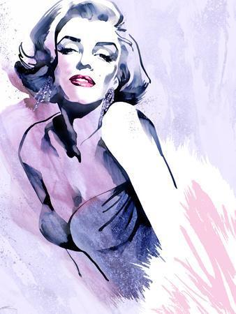 Marilyn in Purple