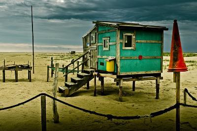 Germany, Schleswig-Holstein, Amrum, Sandy Beach, Sandbank, Kniepsand