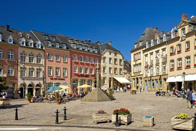 Europe, Grand Duchy of Luxembourg, Echternach, Market Square
