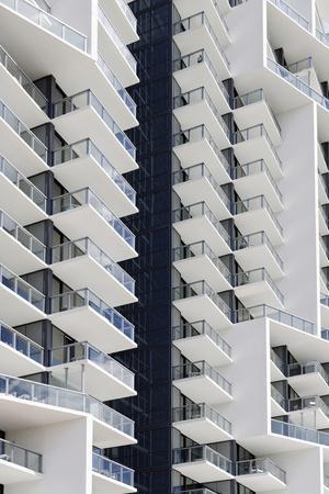 Facade of the Luxury Hotel 'W', 22nd Street, Miami Beach, Florida, Usa