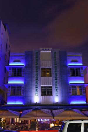 Park Central Hotel in the Art Deco District, Ocean Drive, Miami South Beach