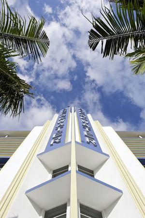Breakwater Hotel, Facade, Art Deco Hotel, Ocean Drive, South Miami Beach