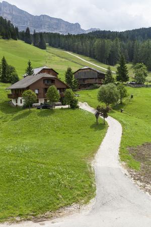 Farm, St. Leonhard Close Abbey, South Tyrol, Italy, Europe