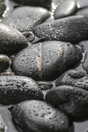 Black Stones in the Water, Zen, Spa