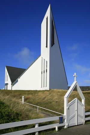 St. Thomas Church in Hornum on the Island of Sylt, the Last Listed Facade of Schleswig-Holstein