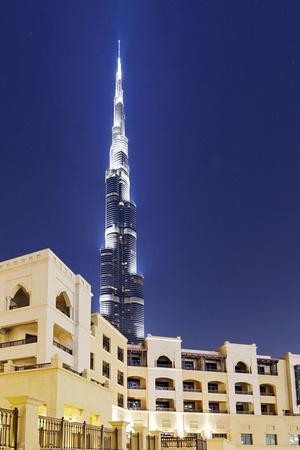 Burj Khalifa, the Highest Tower of the World, Night Photography