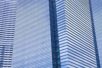 Singapore Skyscraper Detail at Marina Bay