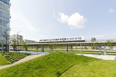 Metro, Local Transport, Orestad, Island Amager, Copenhagen, Denmark, Scandinavia