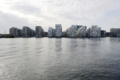 Modern Architecture in Vesterbro, Sydhavnen, Copenhagen, Denmark, Scandinavia