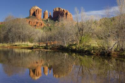Cathedral Rock, Oak Creek, Red Rock State Park, Sedona, Arizona, Usa