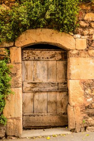 France, Provence, Vaucluse, Roussillon, Old Town, House Facade
