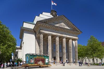 Germany, East Westphalia-Lippe, Land Theatre of Detmold