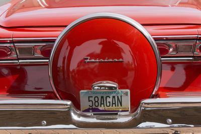 Ford Fairlane, Vintage Car, Grand Canyon Inn, Arizona, Usa