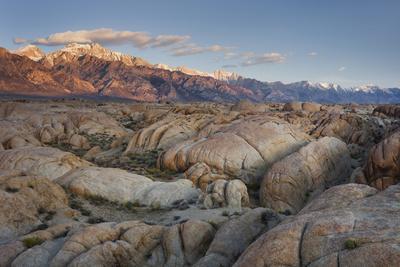 Mount Whitney, Alabama Hills, Near Lone Pine, Sierra Nevada, California, Usa
