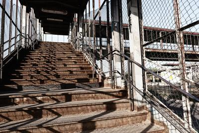 Berlin-Marzahn, City Railroad Station, Stairs