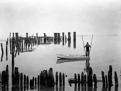 Oyster Tonger Tilghman Island Maryland Photographic