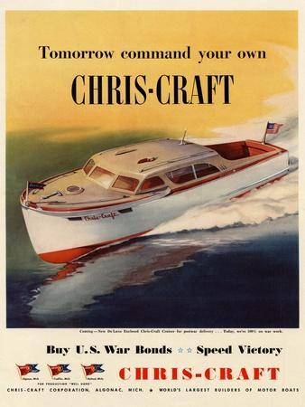 Tomorrow Command Your Own Chris-Craft