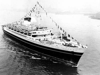 Andrea Doria after Her Maiden Voyage