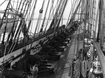 Deck View of Uss Constitution