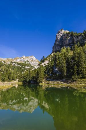 Austria, Tyrol, Achensee Region, Rofan (Mountains), Maurach Am Achensee