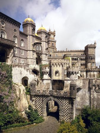 Portugal, Sintra, Pal?Io Da Pena