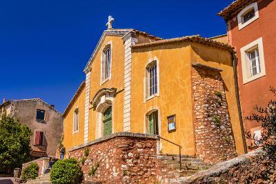France, Provence, Vaucluse, Roussillon, Old Town
