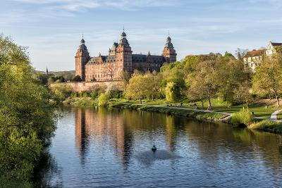 Ashaffenburg, Bavaria, Germany, Schloss Johannisburg (Palace