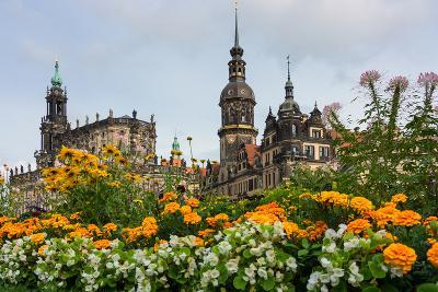 Dresden, Summer, Dresden Cathedral, Castle