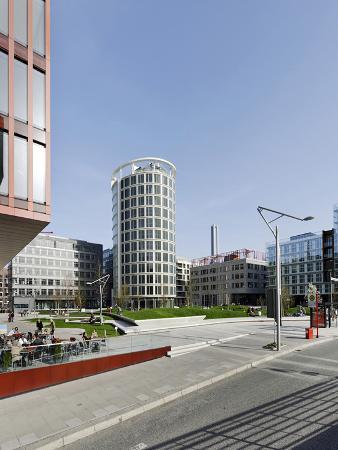 Modern Architecture, Office Buildings, International Coffee Plaza, Hafencity, Hamburg