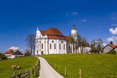 Germany, Bavaria, Upper Bavaria, Pfaffenwinkel, Steingaden