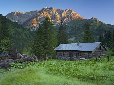 Austria, Carinthia, Plšcken (Village), Mooskofel, Hut